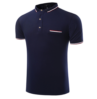 Guangzhou factory top quality latest shirt design for men for Best quality polo shirts for men