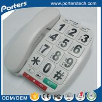 China Supplier High Quality Big Button Telephone , Big Button Landline Phones