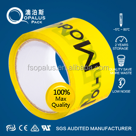 promotion Christmas Decoration Colored BOPP adhesive tape