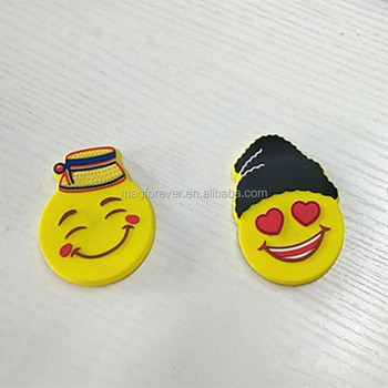 3d soft rubber customized magnetic fridge magnet