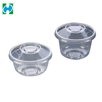 Food Grade Pet Disposable Plastic Fruit Container/salad Boxes Low Price