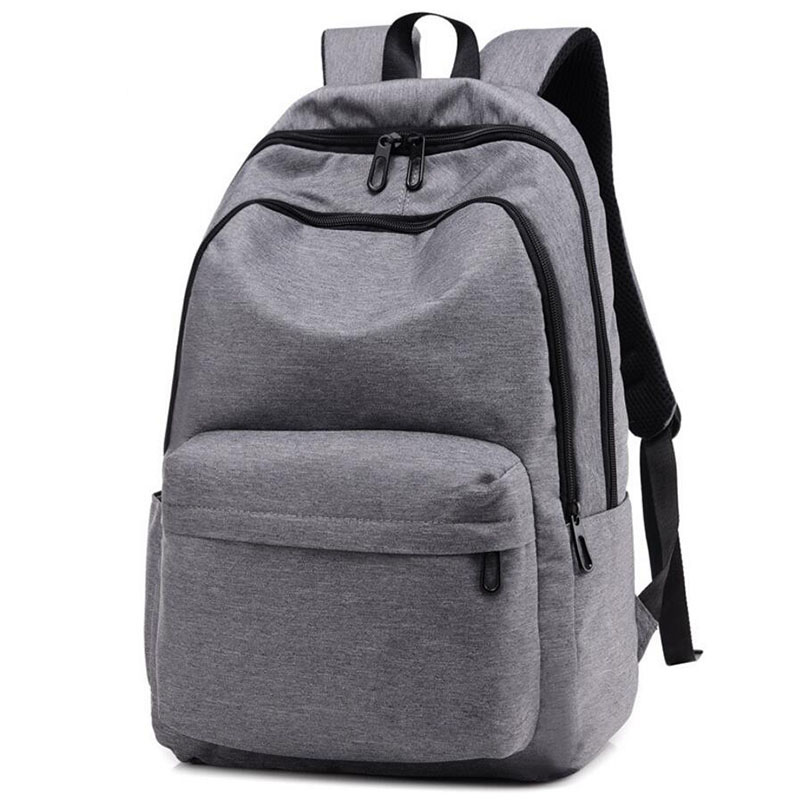 Ant Fleece Durable Wholesale Grey Color Backpack Bag And Can Be Customized