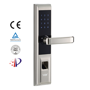 Commercial double sided outdoor smart cheap biometric fingerprint door lock