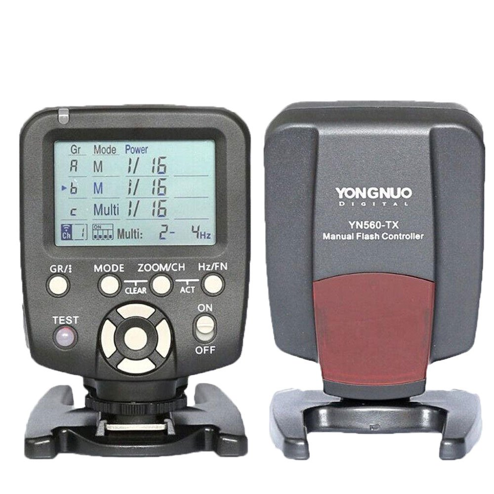 YongNuo Yongnuo YN560-TX Wireless Flash Controller YN-560-TX for Nikon D7200...