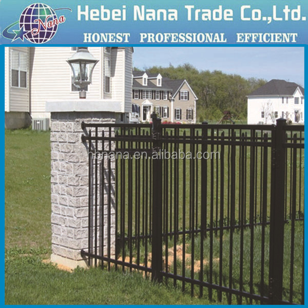 Modern Gates And Fences Design / Wrought Iron Wall Fence Designs