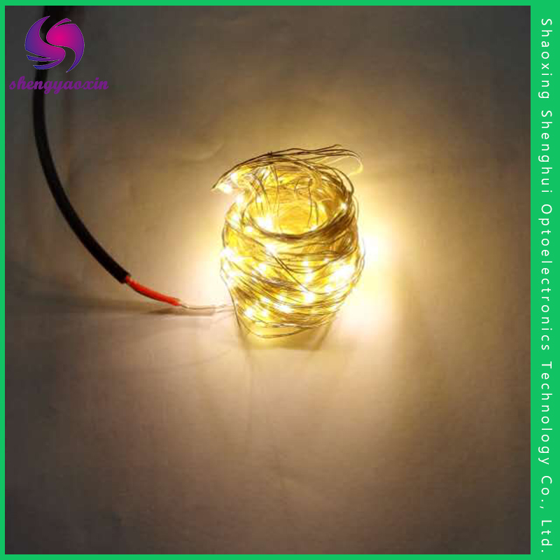 Factory Directly Provide Good Quality LED Copper Wire String Lights