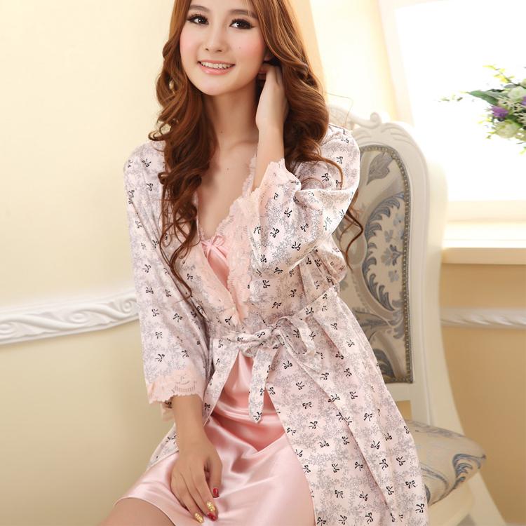 7e140efa82fbd82 Женские халаты сексуальность пижамы костюм ночная рубашка платье ...