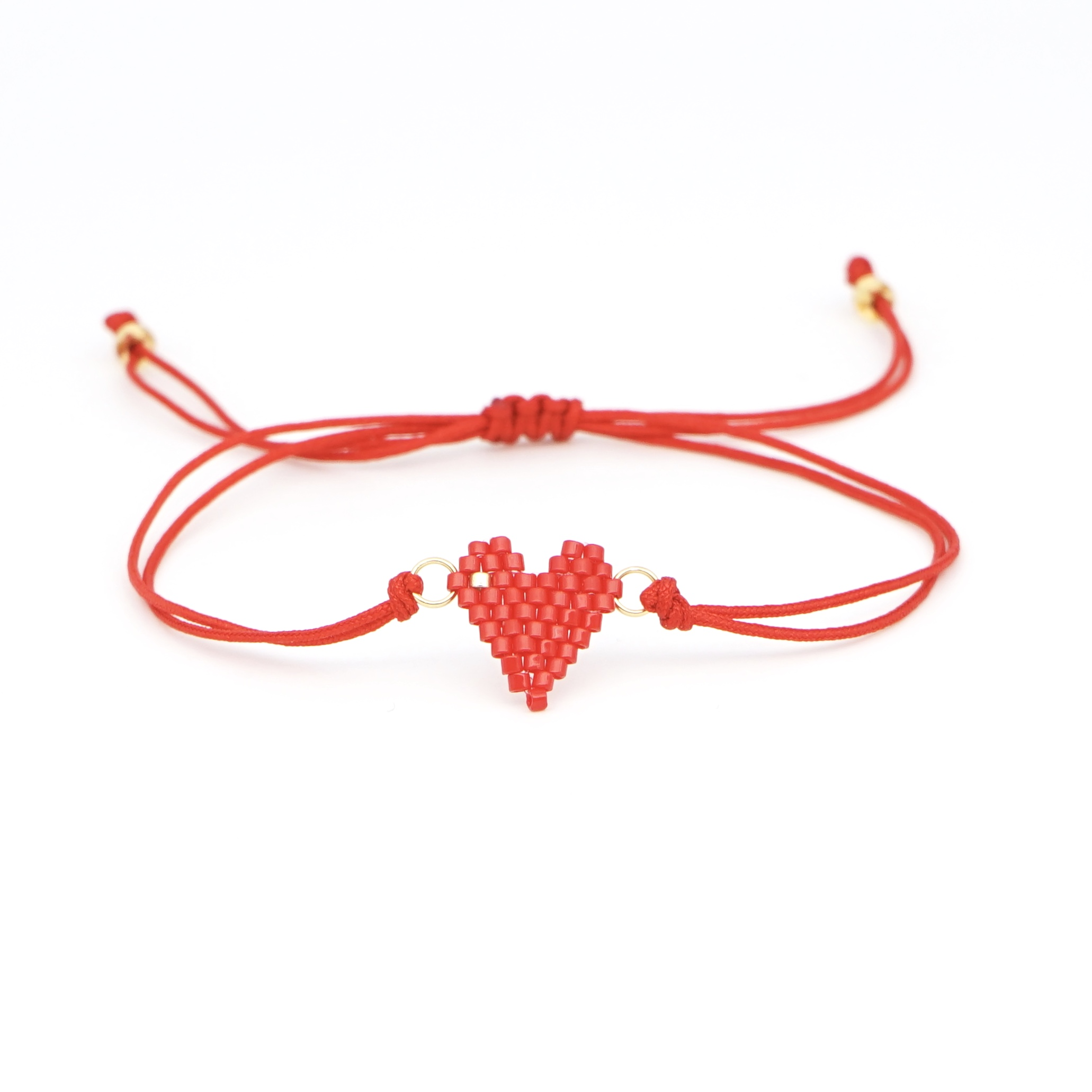 Trendy Handmade Parts Girls Lovely Seed Beads Bracelet Jewelry Design