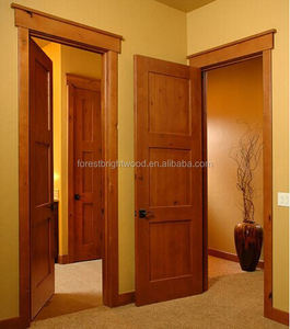 2015 New Product Wooden Doors Design Teak Wood Door Models