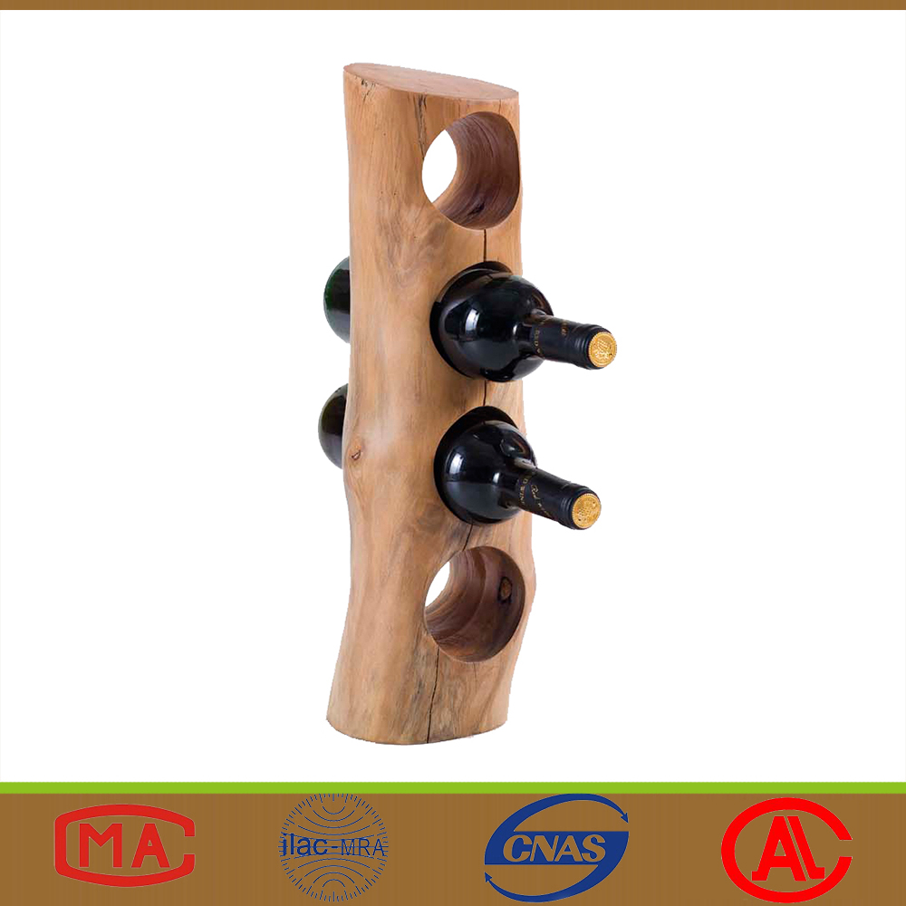 Bar Home Creative Vertical Design Wooden Wine Holders