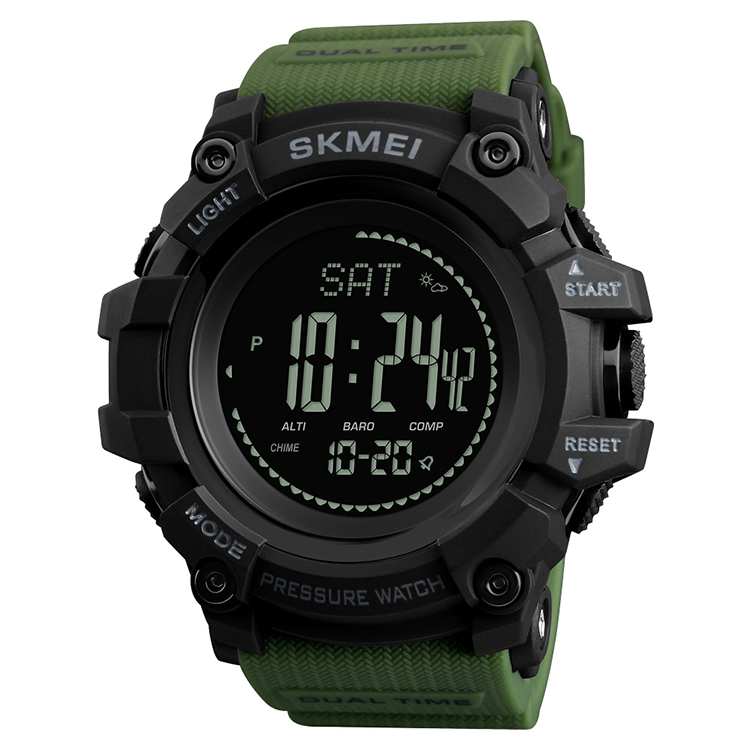 Skmei Multifunction Digital Watches Hand Clock For Men Sport Army Military Watch 1358, Black /customized can be available