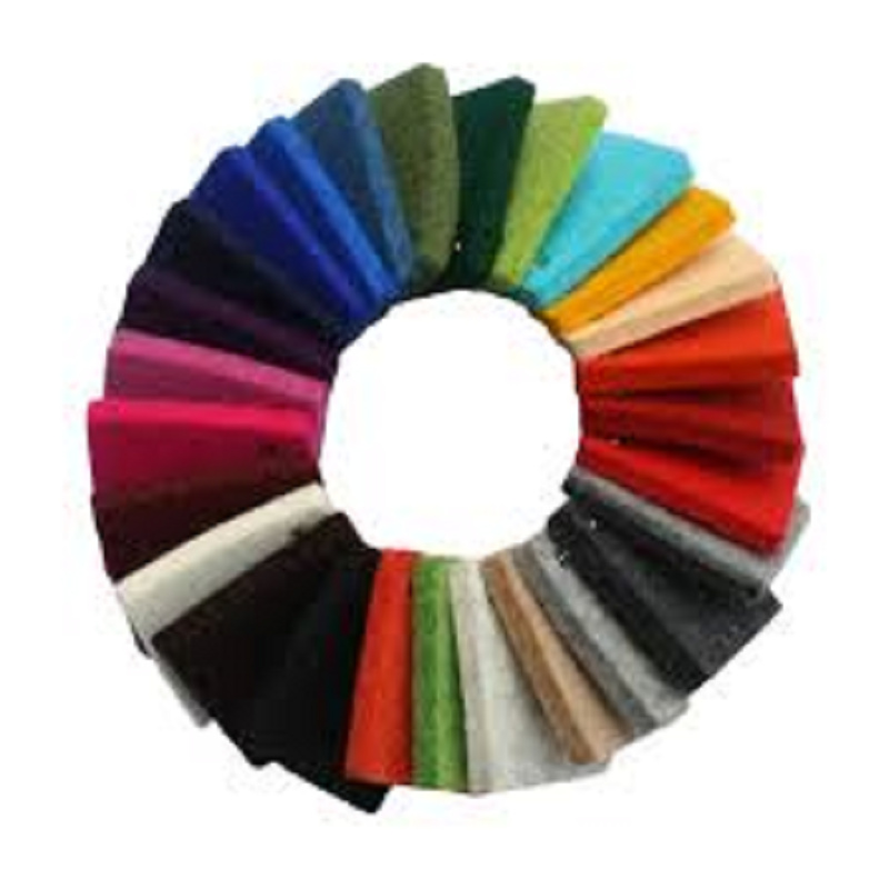 100% Merino de prensado de 3mm de espesor de fieltro de lana