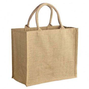 8c3235816a 2019 Trends plain jute beach bags logo print jute shopping bag hessian  burlap tote jute bag