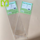 Top Quality OPP/Cellophane Game Card Sleeves Clear Plastic Bag With Hang Hole