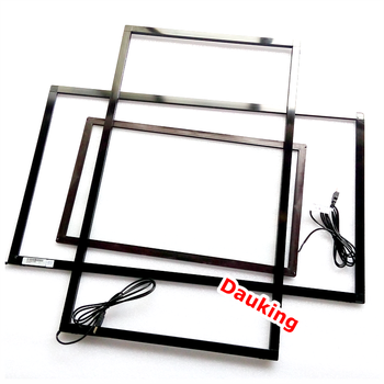 Aluminum 17 19 28 32 42 65 Inch Ir Touch Screen Frame/overlay Kit ...