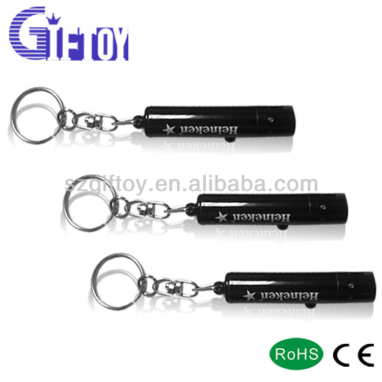 GT-323 UV led light torch Keychain with Small blinking