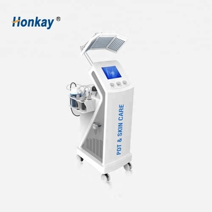 2018 new arrivals for facial led light therapy / hydro dermabrasion machine / skin scrubber machine