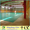 PVC flooring Indoor synthetic badminton court flooring