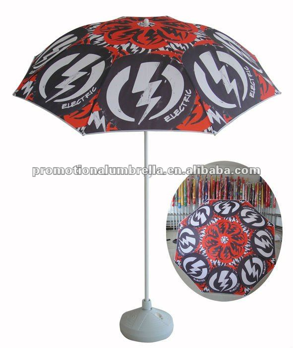 Custom beach umbrella heat transfer printing