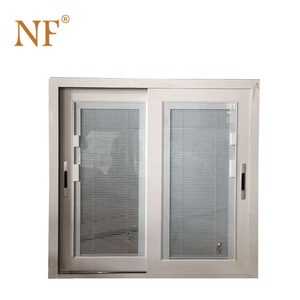 Interior Aluminium Profile Sliding Window with Mosquito Net