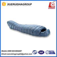 Canvas Sleeping Bag with Pillow