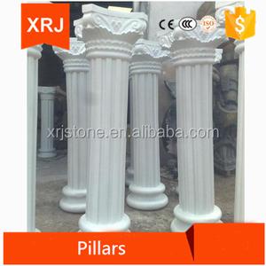 Marble decorative concrete columns molds/ round column molds