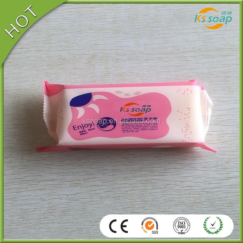 No additives eco-friendly laundry bar soap, enjoy baby washing detergent soap