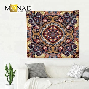 Monad custom wholesale traditional indian decorative items mandala tapestry wall hanging