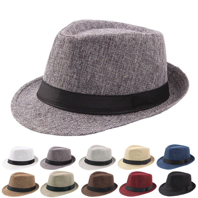 Fashion Summer Cool Panama Wide Brim Billycock Sag Top Bowler Derby Jazz Straw Made Indiana Jones Style Fedora Hat