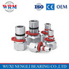 WRM brand Aluminum XL series star flexible coupling for Water pump couplings