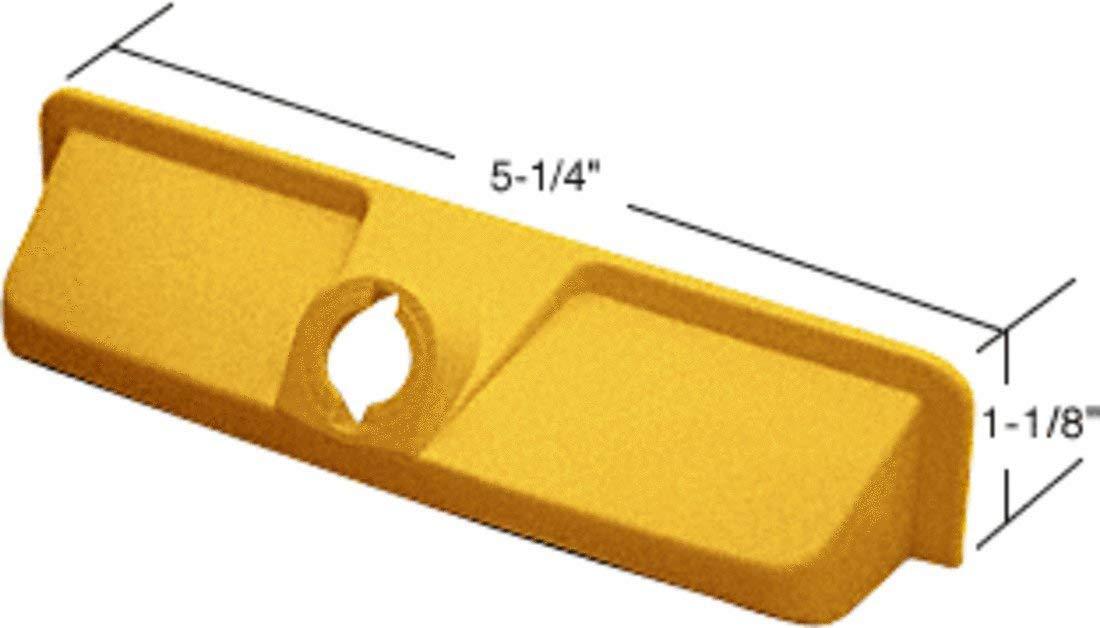 C.R. LAURENCE EP21986 CRL Bright Brass EntryGard Plastic Operator Cover