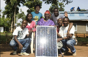 Solar Submersible Water Pump in East Africa