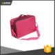 High Quality Large Capacity Black Cosmetic Bag Toiletry Bag Womens Makeup Brush Bag with Shoulder Strap