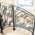 2020 Cast Iron Material Wrought Iron Stairs Wholesale