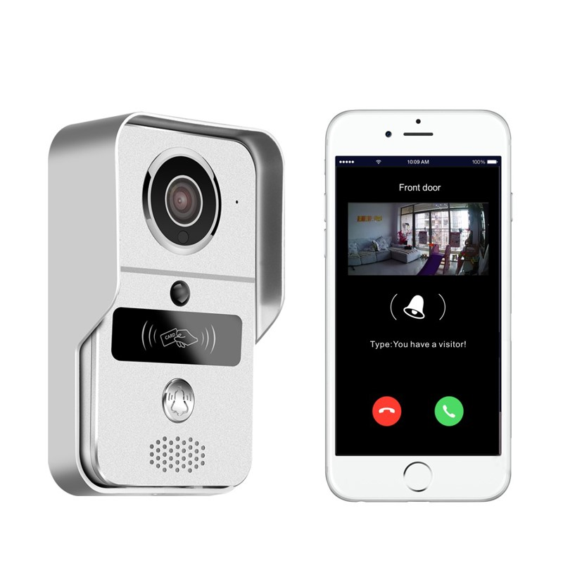 front door video cameraBest Smart Doorbell Wifi Ring Bell Camera Connect To Mobile Phone