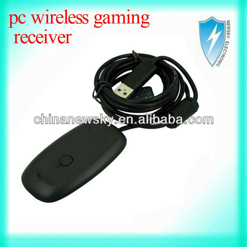 pc wireless gaming receiver for xbox360 +Docking Charger station