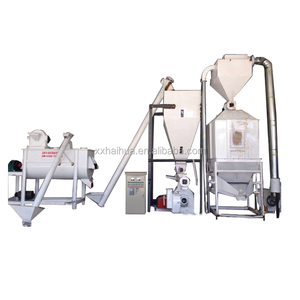 Hot sale high capacity 1-10Ton/H powder feed production line for chicken feed mill