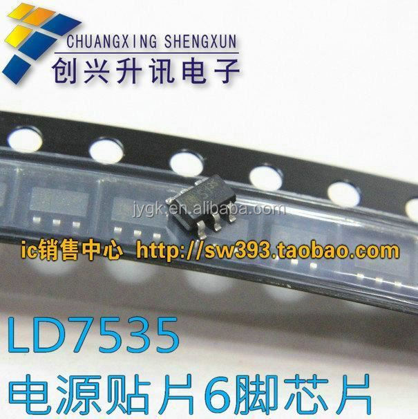 "LD7535MBL LD7535 1P35 chip ""35"" SMD 6 pin power management IC--XSZX"