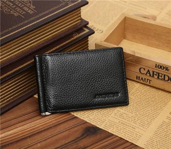 Gubintu Stainless Steel Leather Money Clip Wallet With Card Holder ... ec5808842875