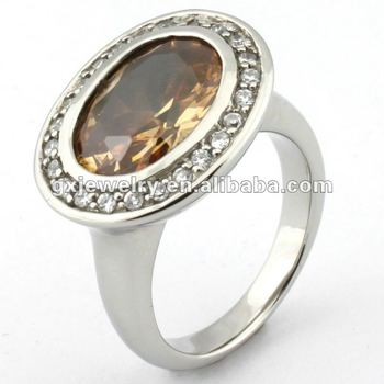 Big stone ring design