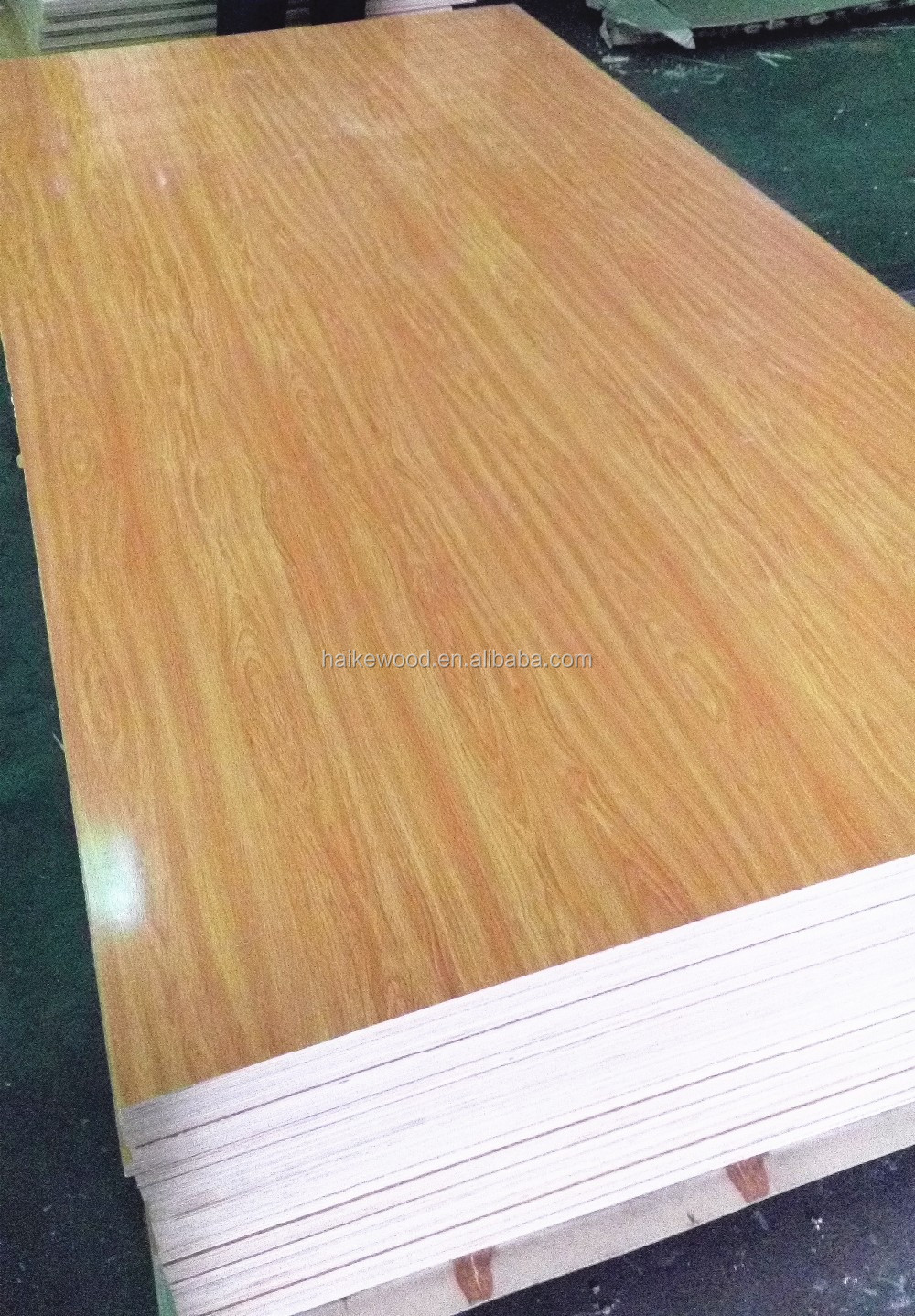Waterproof high density fiberboard medium