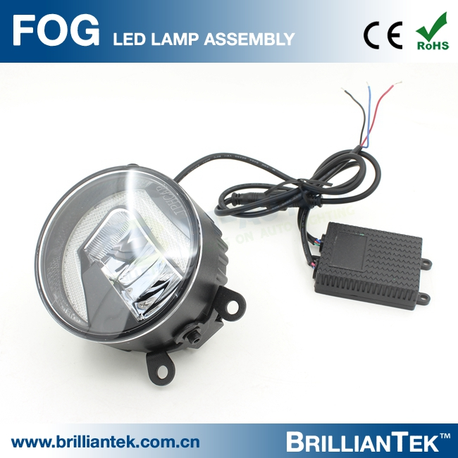 Universial For Most Car 1500lm Angel Eyes Projector Fog Lamp