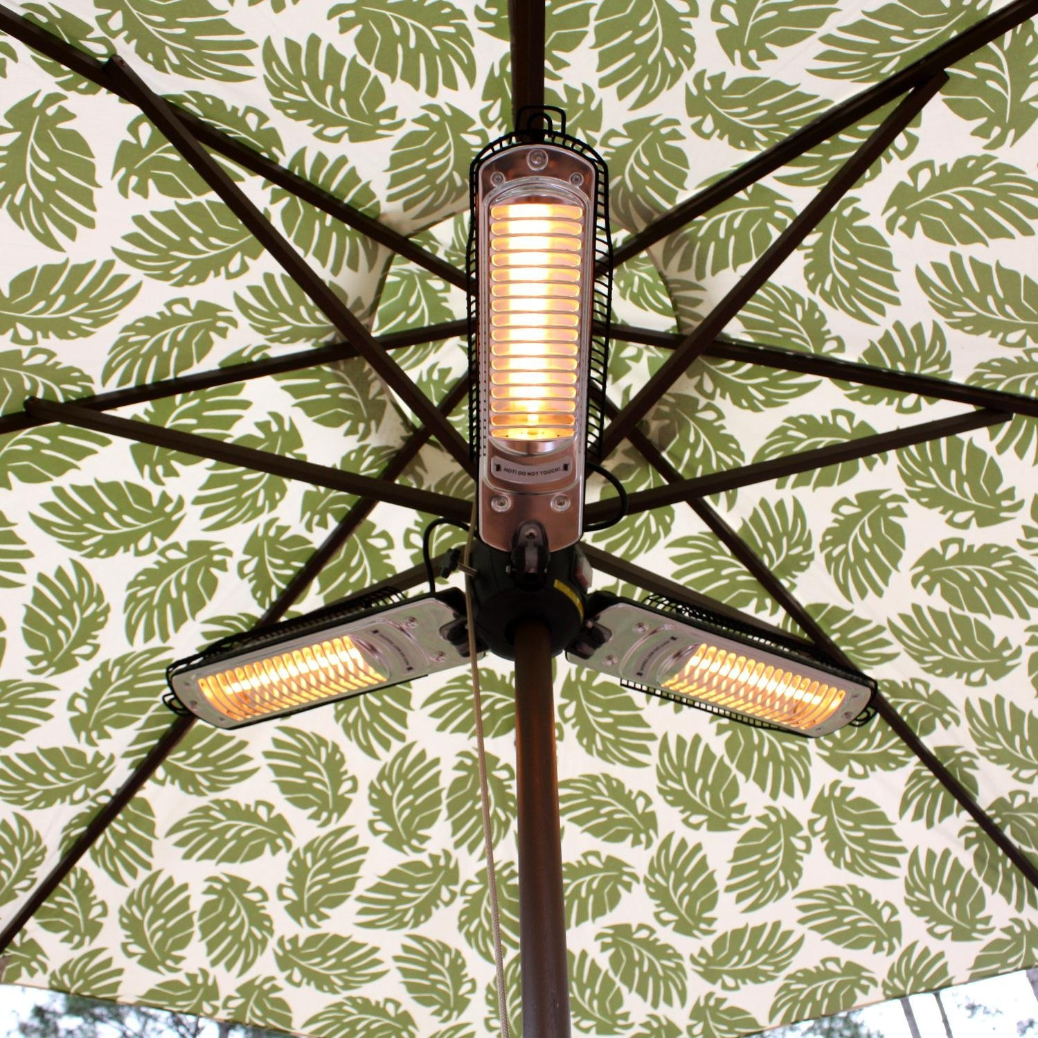 Fire Sense Umbrella Halogen Patio Heater