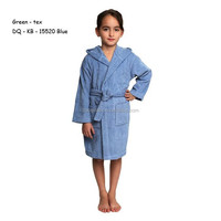 Lvory Towel Selections Chinese Cotton Hooded Kids Terry Bathrobe ...