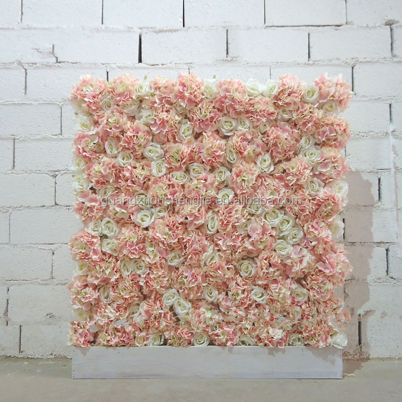 SJ040830 Artificial Flower for Wall Decoration and wedding stage backdrop decoration