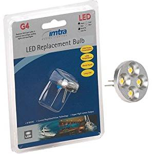 """Imtra """"Reader"""" LED Replacement Bulb, Warm White, 10-30VDC (1.8W), Directional, G4/GU4 Socket"""