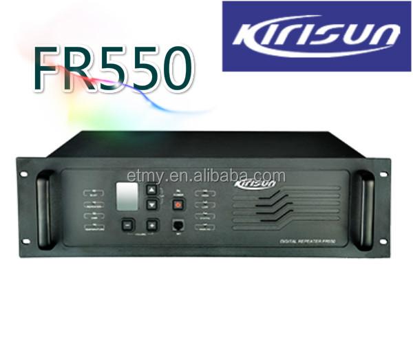 100 Mile Walkie Talkie Kirisun Fr550 Uhf Digital Mobile Radio ...