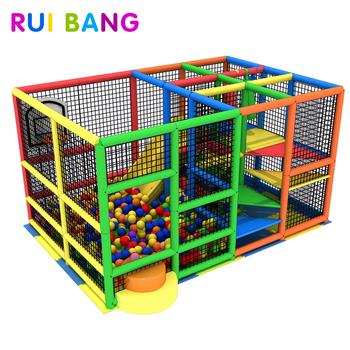 Commercial Kids Indoor Playground Equipmentfast Food Restaurants