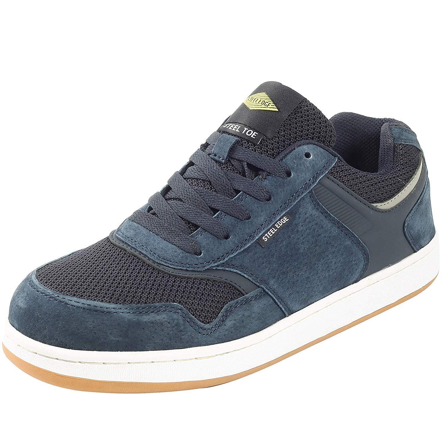 49f0e26260b Get Quotations · Safety Toe Athletic Shoes - Skater Style