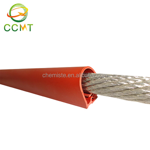 Anti-tracking UV resistance high voltage silicon power cable overhead line insulation sleeve
